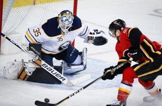 Jack Eichel scores in OT to lift Sabres past Flames, 4-3