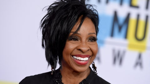 """<p>               FILE - In this Oct. 9, 2018 file photo, Gladys Knight arrives at the American Music Awards at the Microsoft Theater in Los Angeles. The seven-time Grammy Award-winner will sing """"The Star-Spangled Banner"""" at this year's Super Bowl, Sunday, Feb. 3, 2019.  Knight says she's proud to use her voice to """"unite and represent our country"""" in her hometown of Atlanta.(Photo by Jordan Strauss/Invision/AP, File)             </p>"""