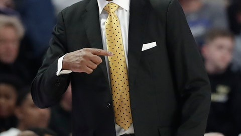 <p>               Wake Forest coach Danny Manning directs his team against Duke during the first half of an NCAA college basketball game in Winston-Salem, N.C., Tuesday, Jan. 8, 2019. (AP Photo/Chuck Burton)             </p>