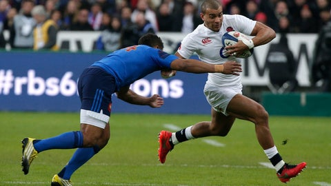 <p>               FILE - In this Saturday, March 19, 2016 file photo, England's Anthony Watson, right, evades France's Wesley Fofana during their Six Nations international rugby match at the Stade de France stadium in Saint-Denis, outside Paris. France center Wesley Fofana will retire from international rugby after the World Cup later this year, it was announced Thursday, Jan. 24, 2019.  A powerful, fast center with good hands, the 31-year-old Fofana made his international debut against Italy seven years ago and scored 15 tries in 45 test appearances. (AP Photo/Thibault Camus, file)             </p>