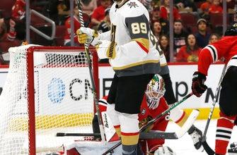 Theodore helps Golden Knights beat Blackhawks 4-3