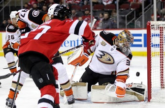 New-look Ducks, led by John Gibson in goal, beat Devils 3-2