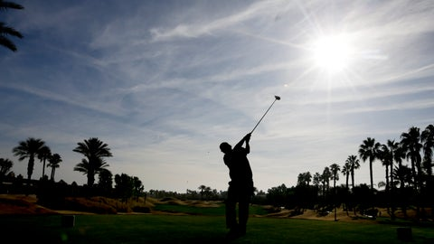 <p>               Phil Mickelson watches his tee shot on the 11th hole during the second round of the Desert Classic golf tournament on the Nicklaus Tournament Course at PGA West on Friday, Jan. 18, 2019, in La Quinta, Calif. (AP Photo/Chris Carlson)             </p>