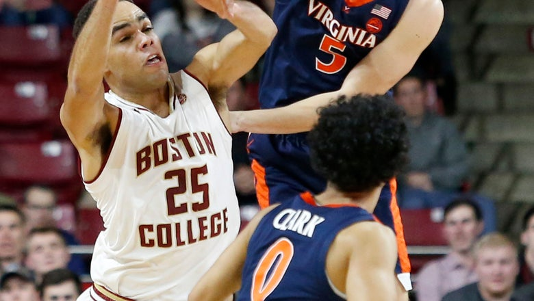 No. 4 Virginia remains unbeaten with easy 83-56 win over BC