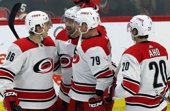 Hurricanes top Senators for 4th straight win