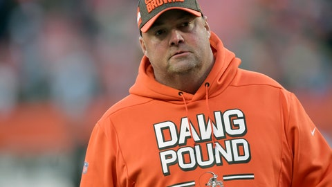 <p>               FILE - In this Sunday, Dec. 9, 2018 file photo, Cleveland Browns offensive coordinator Freddie Kitchens walks on the field after an NFL football game against the Carolina Panthers in Cleveland. A person familiar with the decision says the Browns have denied requests from other teams to interview offensive coordinator Freddie Kitchens. There has been outside interest in Kitchens, who took over Cleveland's offense in October, said the person who spoke Thursday, Jan. 3, 2019 on condition of anonymity because the Browns are not commenting during their coaching search other than to confirm completed interviews. (AP Photo/David Richard, File)             </p>