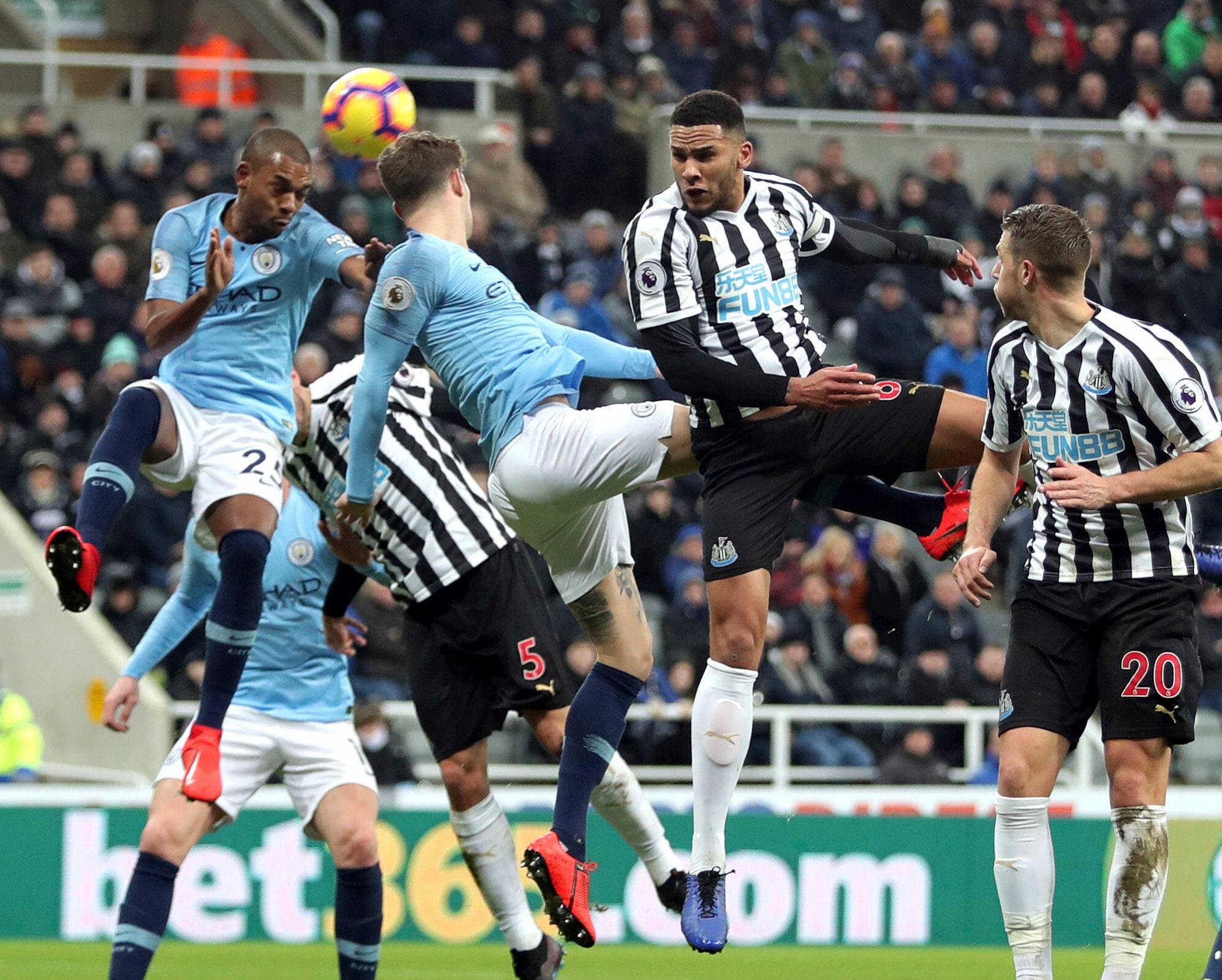 City loses at Newcastle, Solskjaer's winning run ends | FOX