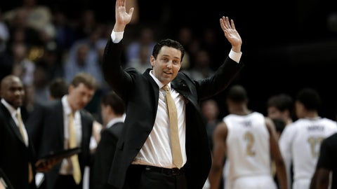 <p>               FILE - In this Jan. 23, 2019, file photo, Vanderbilt head coach Bryce Drew reacts to an official's call in the second half of an NCAA college basketball game against Tennessee in Nashville, Tenn. Vanderbilt's worst start ever in the Southeastern Conference could get much uglier. The Commodores host Kentucky on Tuesday, Jan. 29, 2019, having lost six straight league games and seven overall after a blowout loss to Oklahoma in the Big 12/SEC Challenge. (AP Photo/Mark Humphrey, File)             </p>