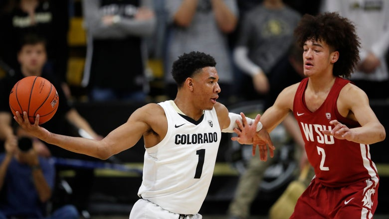 Brey scores 26 as Colorado beat Washington State 92-60