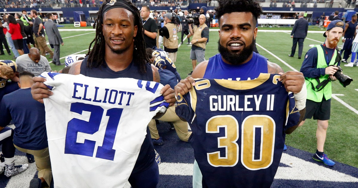 It S Gurley Amp Rams Or Zeke Amp Cowboys Headed To Nfc