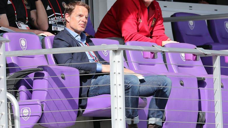 Atlanta United introduces new coach Frank de Boer