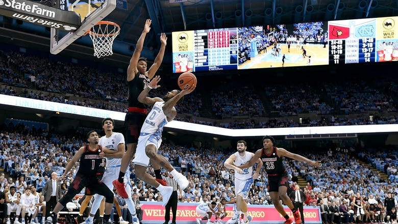 Louisville upset No. 12 North Carolina