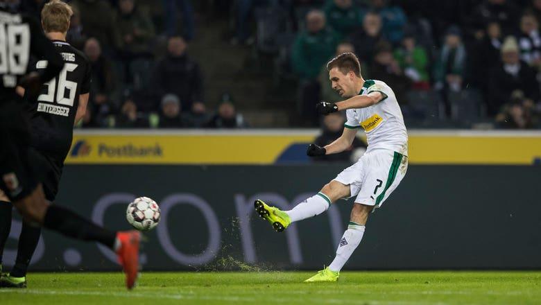 Patrick Herrmann's stunning goal doubles Mönchengladbach lead vs. FC Augsburg | 2019 Bundesliga Highlights