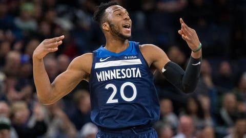 Josh Okogie, Wolves forward (↓ DOWN)