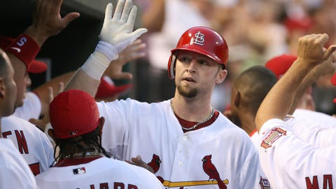 St. Louis Cardinals outfielder Chris Duncan
