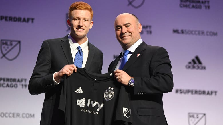 Sporting KC selects two midfielders in opening rounds of 2019 MLS SuperDraft