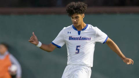 UMass Lowell defender Franky Martinez.