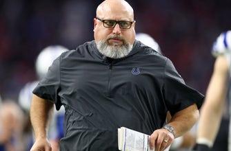 AP source: Colts fire O-line coach DeGuglielmo