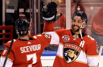 Vincent Trocheck returns to lineup as Panthers top Maple Leafs to end 7-game skid