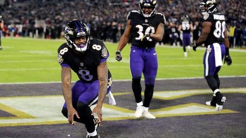 7. Baltimore Ravens