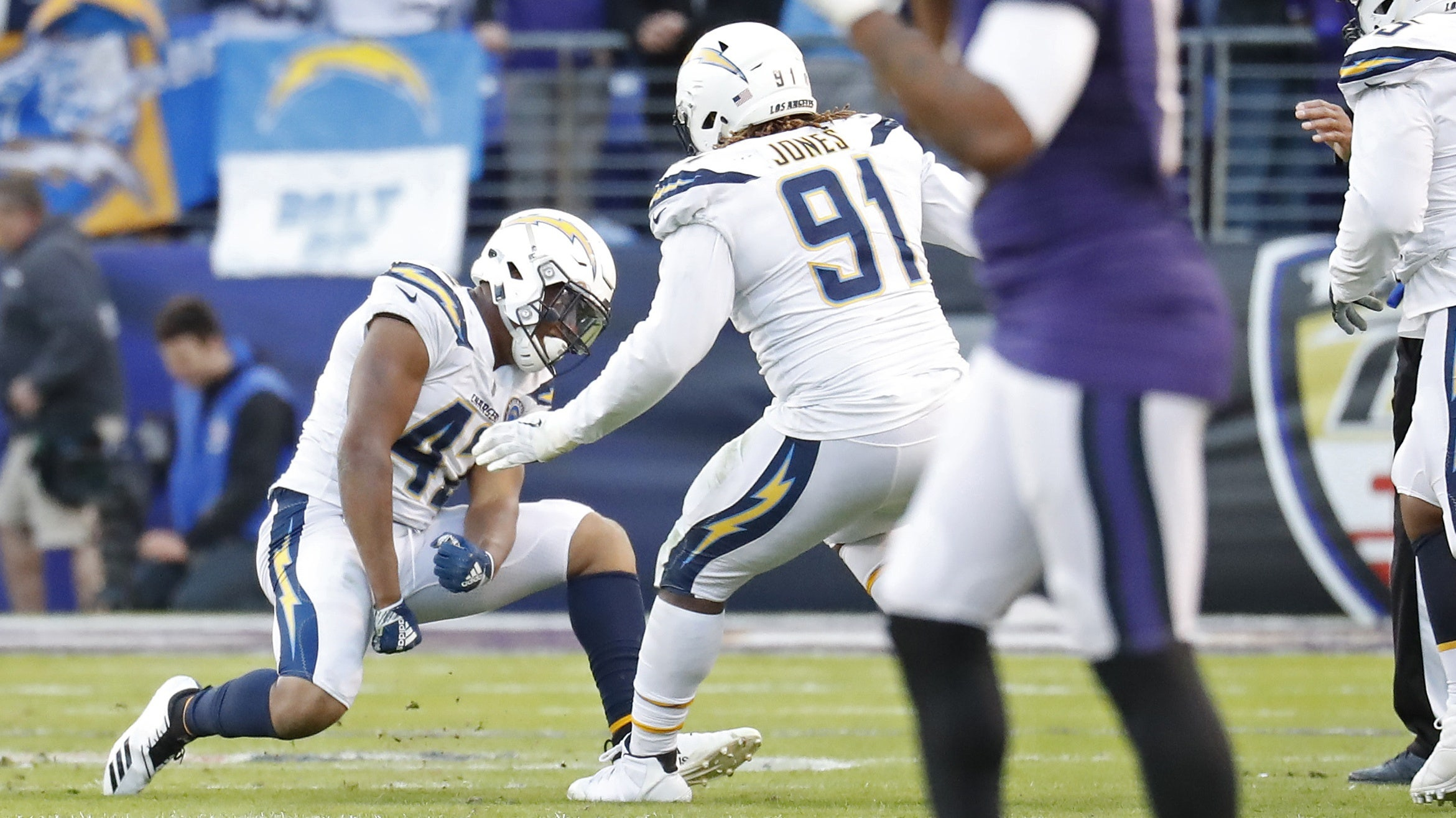 RECAP: Chargers edge Ravens in NFL Playoffs