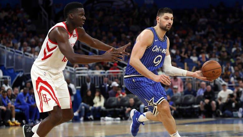 Nikola Vucevic, Aaron Gordon rally Magic to comeback win over Rockets