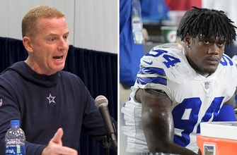 Jason Garrett on 'supporting' Randy Gregory amid indefinite suspension
