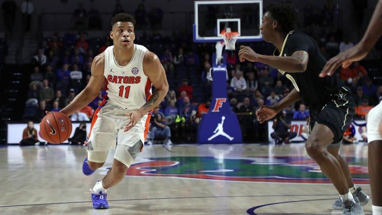 Freshman guard Keyontae Johnson scores 15 points as Gators down reeling Vanderbilt