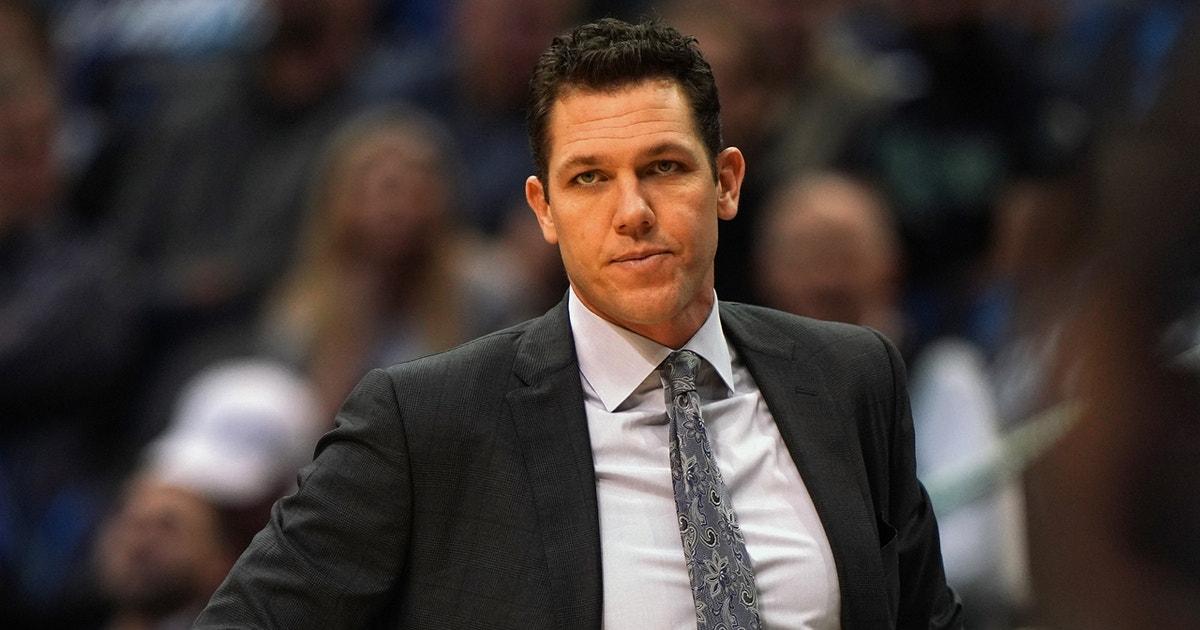 Nick Wright believes Jeanie Buss saved Luke Walton's job with the Lakers