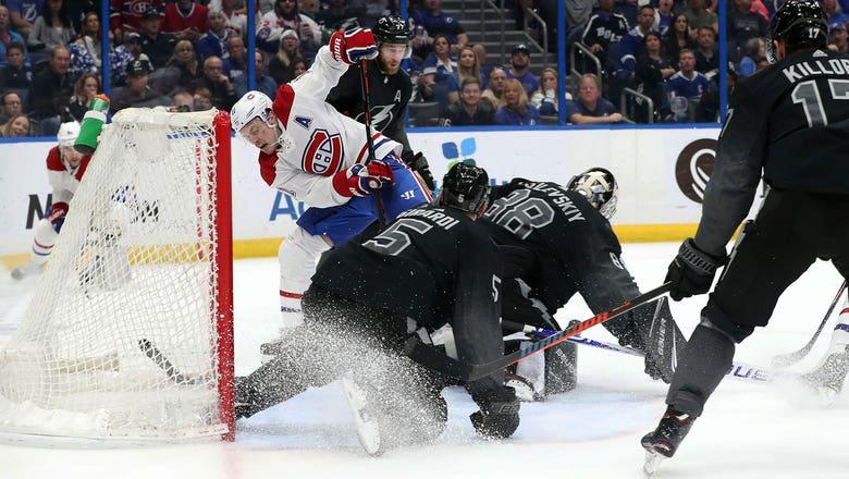 Andrei Vasilevskiy sets Lightning regular season shutout record in 3-0 win over Canadiens