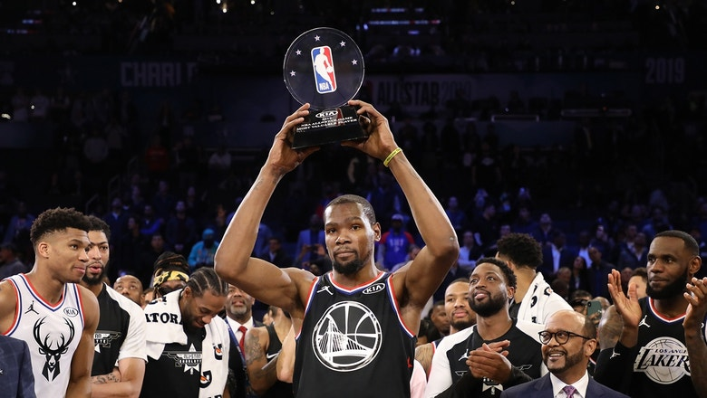 Chris Broussard doesn't think Kevin Durant's All-Star MVP enhances his legacy