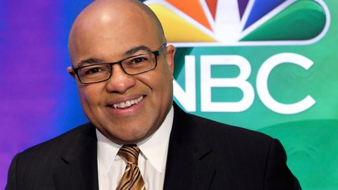 <p>               FILE - In this March 2, 2017, file photo, Mike Tirico attends the NBC Universal mid-season press day at the Four Seasons in New York. NBC Sports will use Tirico as the host of its inaugural Indianapolis 500 coverage in May, network executives announced Friday, Feb. 15, 2019. (Photo by Charles Sykes/Invision/AP, File)             </p>