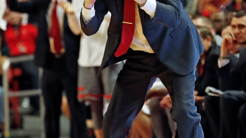 <p>               Texas Tech coach Chris Beard yells out at his players during the second half of an NCAA college basketball game against Baylor, Saturday, Feb. 16, 2019, in Lubbock, Texas. (AP Photo/Brad Tollefson)             </p>