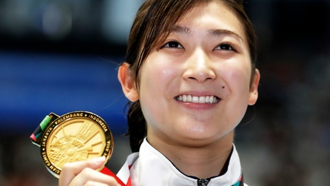 <p>               FILE - In this Aug. 24, 2018, file photo,  Japan's Rikako Ikee holds up her gold medal after winning the women's 50m freestyle final during the swimming competition at the 18th Asian Games in Jakarta, Indonesia. Ikee, the favorite for the 100-meter butterfly for the 2020 Tokyo Olympics, has been diagnosed with leukemia. Ikee said on her verified Twitter account Tuesday, Feb. 12, 2019, her illness surfaced when she got tests after returning from Australia not feeling well. (AP Photo/Lee Jin-man, File)             </p>