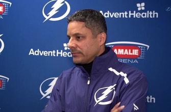 Lightning goaltending coach Frantz Jean shares some of his netminding insights