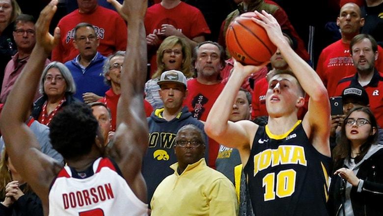 Joe Wieskamp's buzzer beater gives No. 21 Iowa miracle win over Rutgers