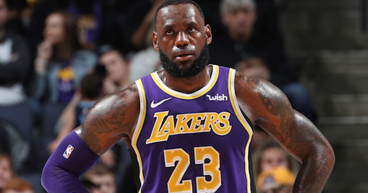 97712faf5ec Shannon Sharpe gives LeBron James 68.5% of the blame for the Lakers'  disappointing season | FOX Sports