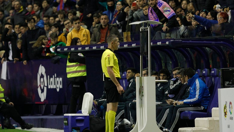 With 2 penalty kicks, Real Madrid edges Levante 2-1