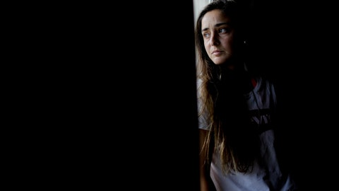 <p>               In this Jan. 31, 2019 photo, soccer player Macarena Sanchez poses for a photo at her home in Buenos Aires, Argentina. Sanchez is taking legal action against her club and the Argentine soccer association for not recognizing her as a professional player. (AP Photo/Natacha Pisarenko)             </p>