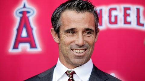 <p>               FILE - In this Monday, Oct. 22, 2018, file photo, new Los Angeles Angels manager Brad Ausmus smiles while talking to reporters during a news conference in Anaheim, Calif. The former Detroit manager already got a jump on his new job as a special assistant to general manager Billy Eppler, watching up close while the Angels completed their third straight losing season. He already has ideas about how to change it when the Angels get back to work. (AP Photo/Jae C. Hong, File)             </p>