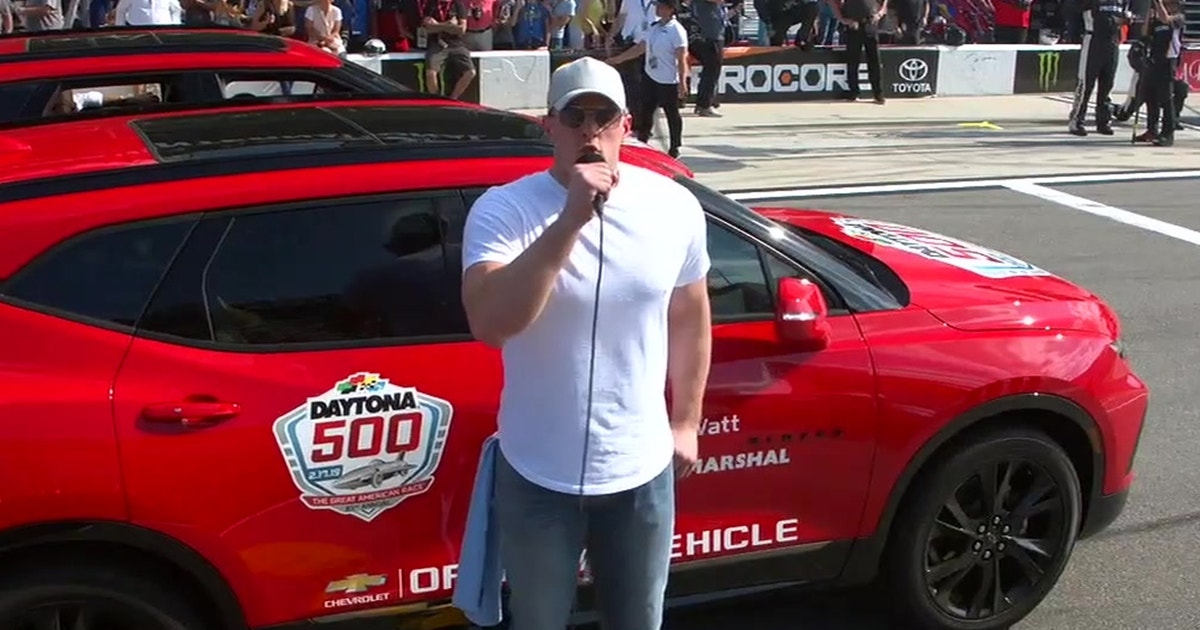 Watch JJ Watt start the 2019 Daytona 500 with the iconic, 'Drivers, start your engines!' command