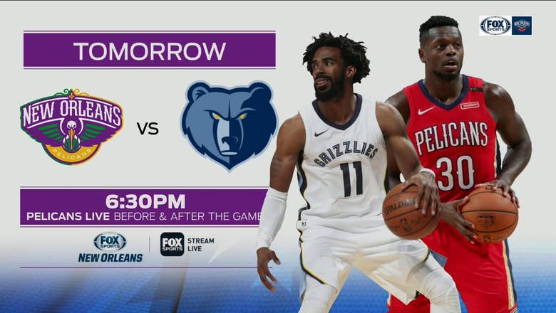 Previewing the Pelicans and Grizzlies in the next game | Pelicans Live