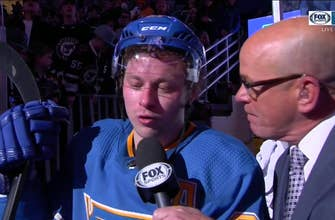 Tarasenko: Blues need to beat Nashville 'If you want to be in the playoffs'