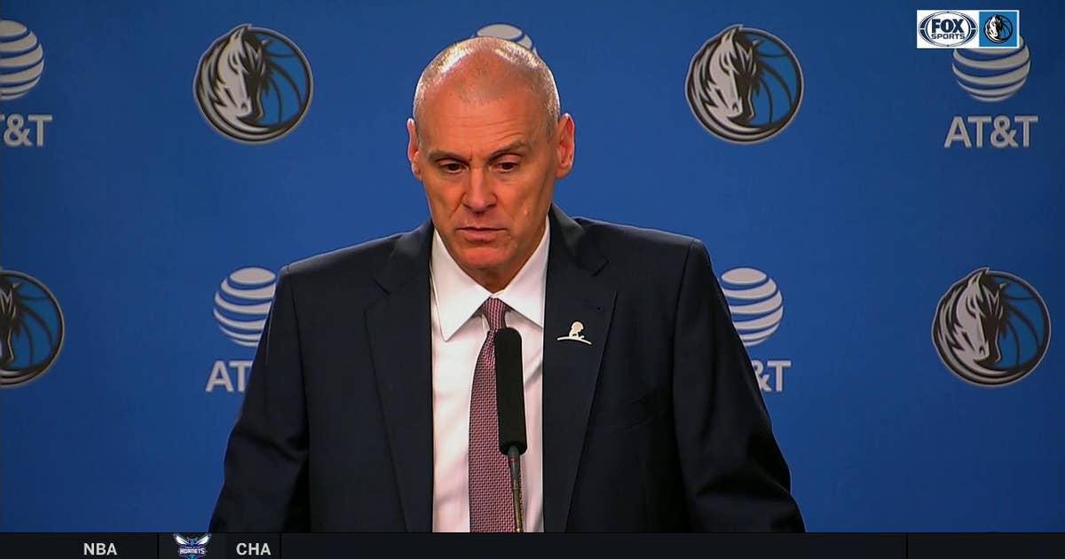 Rick Carlisle talks Dallas win over Pacers