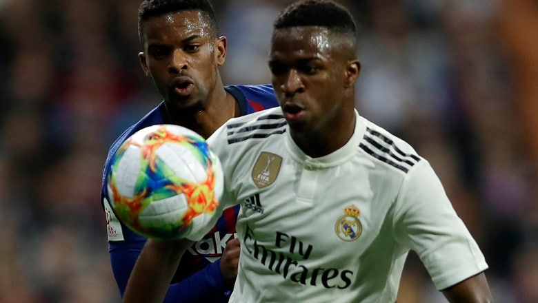 Vinicius Junior called up for Brazil for 1st time