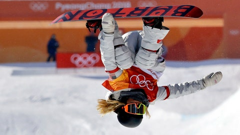 <p>               FILE - In this Feb. 13, 2018, file photo, ChloeKim, of the United States, competes in the women's halfpipe finals at Phoenix Snow Park at the 2018 Winter Olympics in Pyeongchang, South Korea, Tuesday,. Heading to Princeton next fall, Kim is trading her board for books as she tries to blend in and become your normal college freshman. (AP Photo/Lee Jin-man, File)             </p>