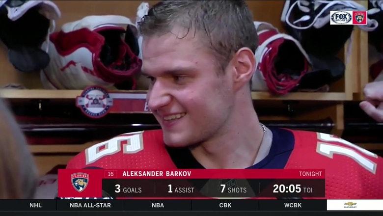 Aleksander Barkov breaks down insane between-the-leg goal