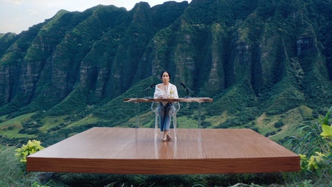 <p>               This image from video provided by Michelob shows a frame from their 2019 Super Bowl commercial for Michelob Ultra Pure Gold. The ad features the actress Zoe Kravitz using techniques for autonomous sensory meridian response, or ASMR. It is described as a tingly euphoric response, usually starting on the head and scalp, and sometimes spreading down the neck, arms or back. (Michelob ULTRA via AP)             </p>