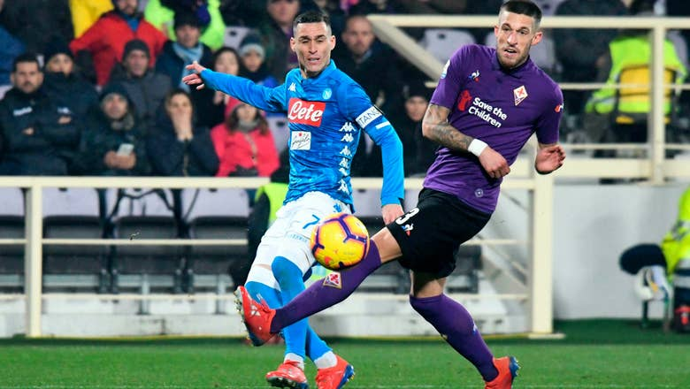 Napoli draws at Fiorentina in Serie A
