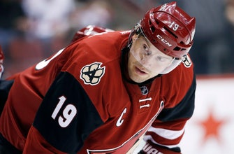 Coyotes to retire Doan's No. 19 before Winnipeg game